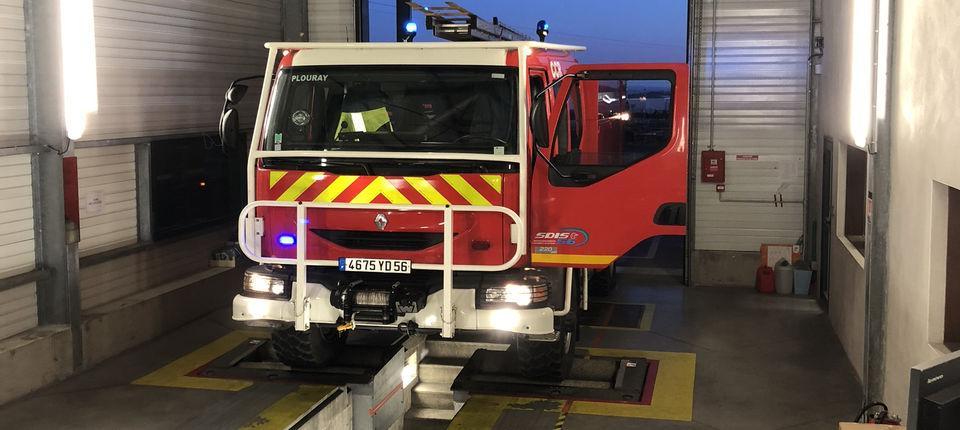Controle Technique Poids Lourds - Camion pompier